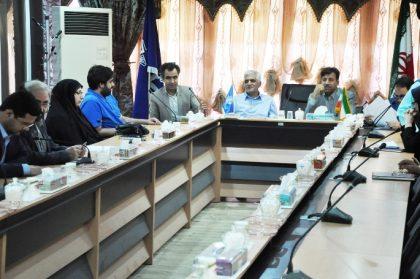 برگزاری جلسه هماهنگی احداث موزه دریا در بندرخرمشهر